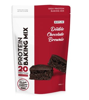 Bodylab Protein Baking Mix - Double Chocolate Brownie, 400g.