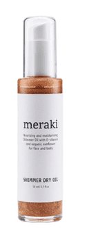 Meraki Shimmer dry oil, 50 ml.