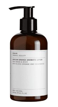 Evolve AFRICAN ORANGE AROMATIC LOTION, 300 ml.