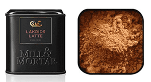 Lakrids latte - Mill & Mortar, 50 g.