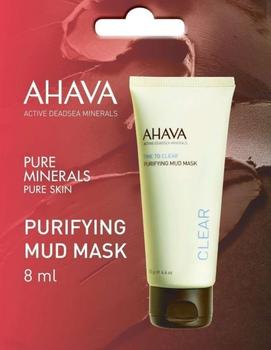 Ahava Purifying mud mask, 8ml.