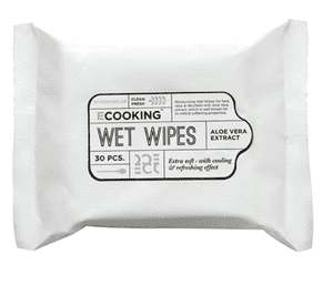 Ecooking Wet wipes, 30 stk.