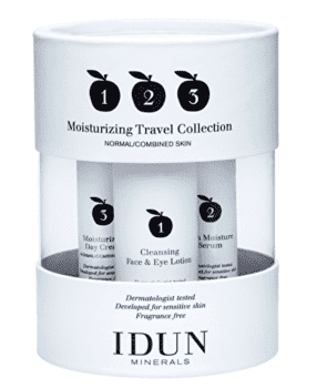 IDUN Moisturizing Travel Collection, 60 ml.