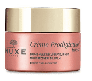 Nuxe Prodigieuse Boost Night Recovery Oil Balm Creme, 50 ml.