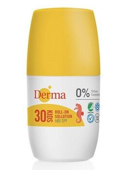 Derma kids roll-on sollotion SPF30, 50ml.