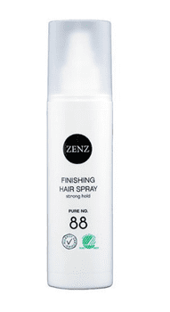 Zenz Organic Hair spray finishing No. 88 Pure, 200 ml.