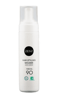 Zenz Organic Hair styling mousse No.90 Pure, 200 ml.