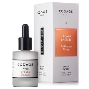 Codage Serum No.3 Radiance & Energy, 30 ml.