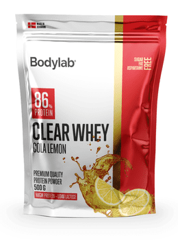 Bodylab Clear Whey Cola Lemon, 500 g.