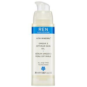 REN Vita Mineral Omega 3 Optimum Skin Serum Oil, 30ml.