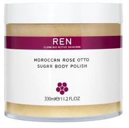 REN Moroccan Rose Otto Sugar Body Polish, 330ml.