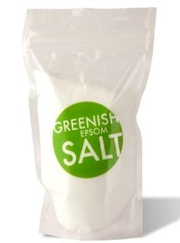 Greenish Epsom Salt, 500g.