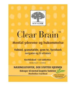 Clear Brain, 60tab.