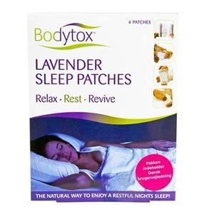 Bodytox Lavender sleep patches 6 stk.