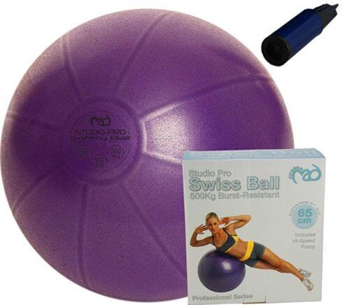 9cee0a4c20c Pilates Bold / Træningsbold PRO + 1 pumpe (lilla). Pilates Bold /  Træningsbold PRO + 1 pumpe (lilla)