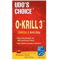 Udo's Choice O-Krill 3 500 mg, 60kap.