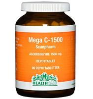 Health Care Mega C 1500 mg, 80tab.