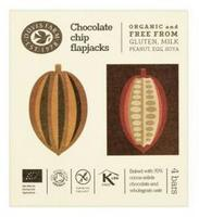 Chocolate Chip Flapjack Ø 4pak, 140g.