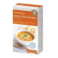 Clearspring Quick Cook 5 korn Ø, 250g.