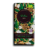Chocolate and Love Chokolade Coffee 55% Ø, 80g.