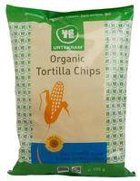Urtekram Tortilla chips sourcream & onion Ø, 125g.