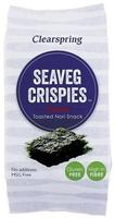 Clearspring Tang chips (Seaveg Crispies), 5g.