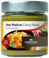 Cosmoveda Hot Madras Curry Paste Ø, 160g.