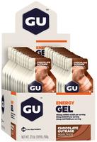 GU Gel Chocolate Outrage, 24stk.