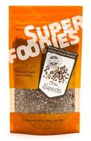 Superfoodies Chia frø Ø, 100g.
