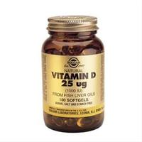 D-Vitamin 25 mcg softgels 100 kapsler
