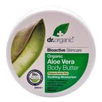 Dr. Organic Body Butter Aloe Vera 200ml.