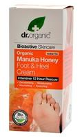 Dr. Organic Foot cream manuka 125ml.