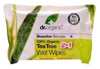 Dr. Organic Wet Wipes Tea Tree 20stk.