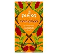 Pukka Te - Three ginger Ø 20 breve
