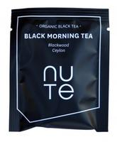 NUTE Black Morning Tea Teabags 10 stk.