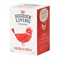 Cocoa & Chilli te Ø Higher Living, 15 br
