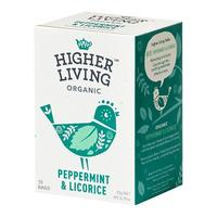 Peppermint & Licorice te Ø Higher Living, 15 br