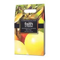 Faith in nature Gaveæske Grape/Orange 3x100ml showergel, shampoo, balsam, 1 pk.