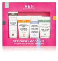 REN skincare Seriously Good Kit