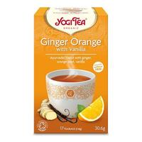Yogi Tea Ginger orange with vanilla Ø, 17 br