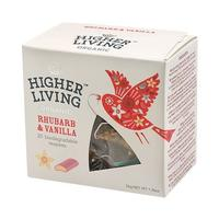 Ruhbarb & Vanilla te Ø Higher Living, 20 br