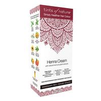 Hårfarve Henna Creme Mahogany Red Tints of Nature, 70 ml