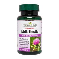 Natures Aid Milk Thistle, 60 tabl.