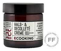 Ecooking Hals- & Decolleté Creme, 50ml.