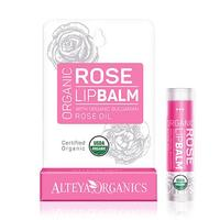 Alteya organics Lipbalm bulgarian rose oil, 5g