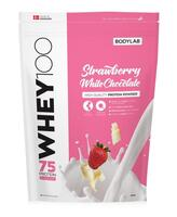Bodylab Whey 100 Strawberry & White Chocolate, 1kg.