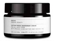 Evolve COTTON FRESH DEODORANT CREAM, 30 ml.