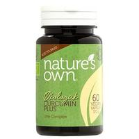 Natures Own CURCUMIN PLUS Urte Complex Ø, 60kap/37,20g