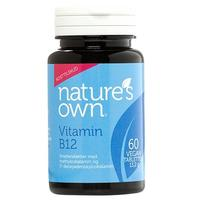 Natures Own Vitamin B12 Vegan smeltetablet, 60tab / 13,20g