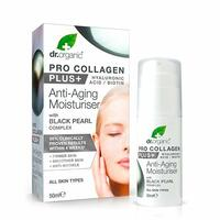 Dr. Organic Pro Collagen Black Pearl complex anti-aging moisturiser, 50ml